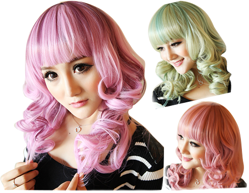 专属彩色发型库提供DIY染发,打造肤色与发色的完美搭配